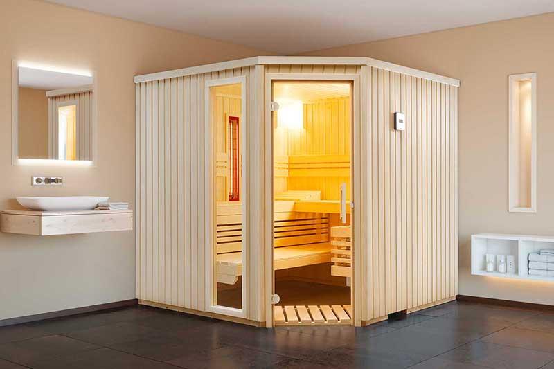 Infrarot Sauna Kombination